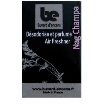 Buvards D'Encens Buvard d'encens Nag Champa 36 feuillets parfum d'ambiance sous forme de papier d'encens Les Copines Bio