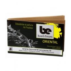 Buvards D'Encens Buvard d'encens Oriental 36 feuillets parfum d'ambiance sous forme de papier d'encens Les Copines Bio
