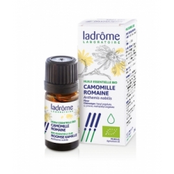 Ladrome Huile essentielle de Camomille Romaine bio 5ml produit d'Aromathérapie Les Copines Bio