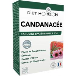 Diet Horizon Candinacée Solution Candida 60 comprimés complément alimentaire Les Copines Bio