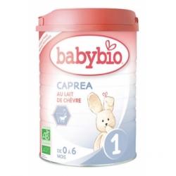 Babybio Capréa au lait de chèvre 1er âge de 0 à 6 mois 900gr produit de remplacement du lait bio pour nourrissons Les Copines Bi