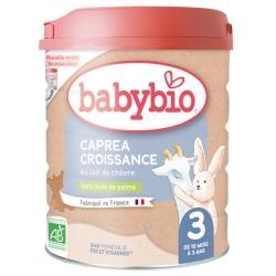 Babybio Capréa 3 au lait de chèvre 3ème âge De 10 mois à 3 Ans 800gr produit de remplacement du lait pour bébé bio Les Copines B