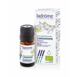 Ladrome Cardamome Huile essentielle 5ml complément alimentaire d'aromathérapie Les Copines Bio