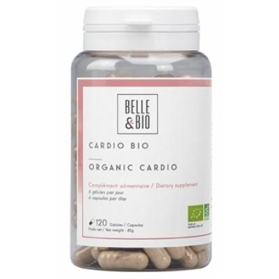 Belle et Bio Cardio bio 120 gélules Complément alimentaire bio Les Copines Bio