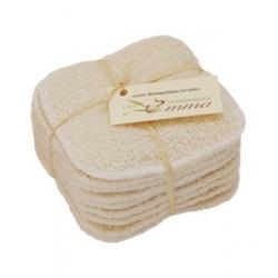 Les tendances d'Emma Carrés démaquillants lavables en Coton Bio Biface 10 unités accessoire de soin pour le visage Les Copines B