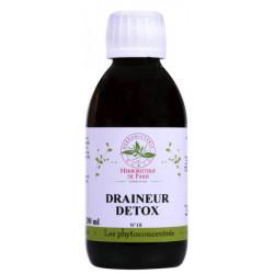 Herboristerie de paris Phyto concentré Draineur Détox 200ml 16 plantes médicinales Les copines bio