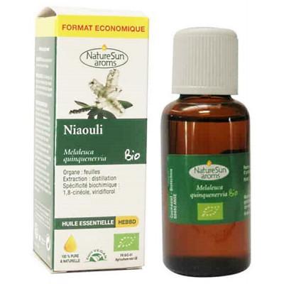 Naturesun'aroms Huile essentielle de Niaouli 30ml format économique complément alimentaire les copines bio