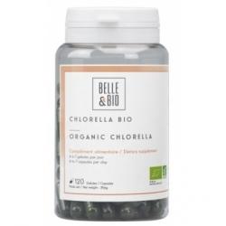 Belle et Bio Chlorella Minuscule Algue d'eau douce 120 gélules complément alimentaire Les Copines Bio