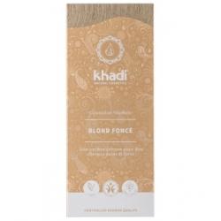 Khadi Coloration végétale Blond foncé 100gr produit de coloration capillaire Les Copines Bio