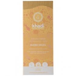Khadi Coloration végétale Blond Soleil 100gr produit de coloration capillaire Les Copines Bio