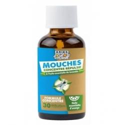 Aries Concentré Anti Mouches à diluer 50ml produit insecticide naturel Les Copines Bio