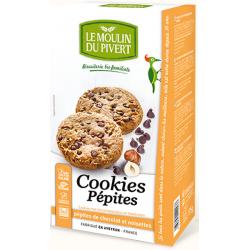 Le Moulin du pivert Cookies Pépites de Chocolat  175g produit d'alimentation Les Copines Bio