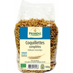 Priméal Coquillettes complètes  500g produit d'alimentation  Les Copines Bio