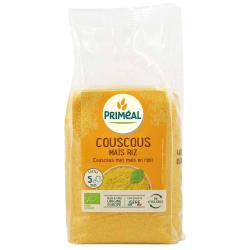 Primeal Couscous maïs riz  500g produit d'alimentation Les Copines Bio