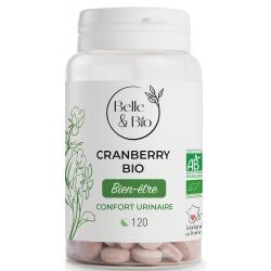 Belle et bio Cranberry bio 120 comprimés complément alimentaire Les Copines Bio