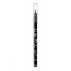 Lavera Crayon à lèvres Plum Prune 04 1,14gr produit de maquillage bio des lèvres Les Copines Bio