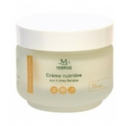 Maurice Mességué Crème nutritive aux 4 cires florales 50ml produit de soin pour le visage Les Copines Bio