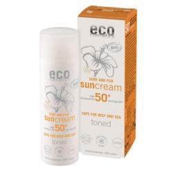 Eco Cosmetics Crème Solaire indice 50+ SURF  et  FUN Grenade et Macadamia 50ml qte_xls Soin Solaire bio Les Copines Bio