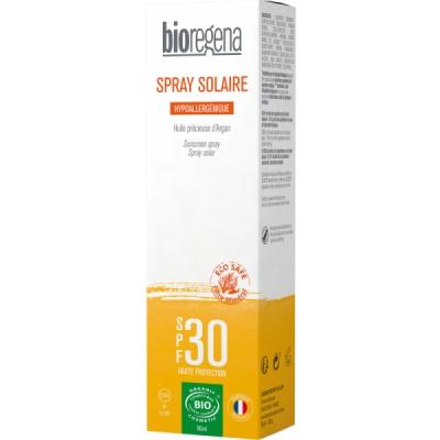Bioregena Crème solaire SPF 30 Peaux claires et légèrement hâlées 90ml qte_xls Soin Solaire bio Les Copines Bio