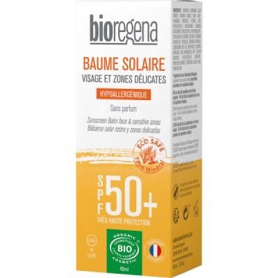 Bioregena Crème solaire SPF50 Peaux claires Visage 40ml qte_xls Soin Solaire bio Les Copines Bio