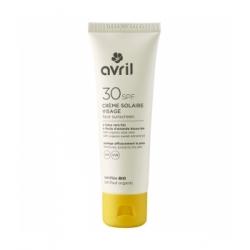 Avril Crème solaire visage SPF 30 50ml qte_xls Soin Solaire bio Les Copines Bio