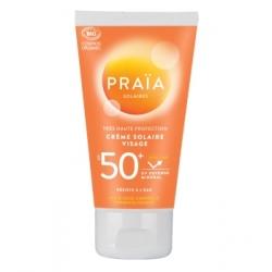 Praia Crème solaire visage SPF50+ 50ml qte_xls Soin Solaire bio Les Copines Bio