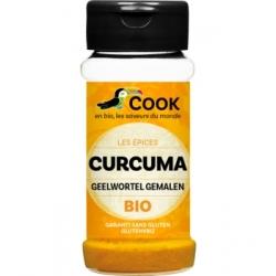 Cook Curcuma en Poudre  35g produit d'alimentation Les Copines Bio