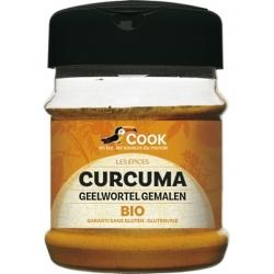 Cook Curcuma en Poudre  80g produit d'alimentation Les Copines Bio