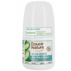 Douce Nature Déodorant à billes peaux sensibles  50ml produit de soin pour le corps Les Copines Bio