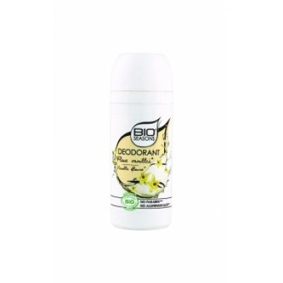 bio Seasons Déodorant bille Fleur Vanillée  75ml produit de soin pour le corps Les Copines Bio