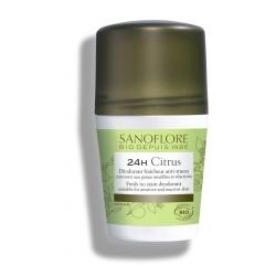 Sanoflore Déodorant Roll on Vent de Citrus 50.0ml déodorant naturel et bio Les Copines Bio