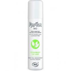 Marilou Bio Déodorant spray Thé vert  75ml produit de soin pour le corps Les Copines Bio