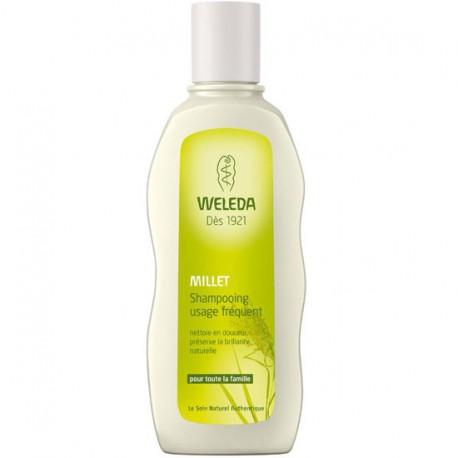 Weleda Shampooing usage fréquent au millet 190ml shampooing bio les copines bio