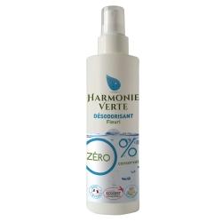 Harmonie Verte Désodorisant fleuri vaporisateur  250ml produit assainissant pour la maison Les Copines Bio