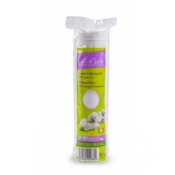Sylvercare Disques à démaquiller 100% coton bio  80 unités produit de nettoyage pour le visage Les Copines Bio