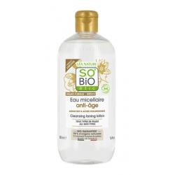 So Bio éthic Eau Micellaire anti âge à l'Argan  500ml produit nettoyant pour le visage Les Copines Bio