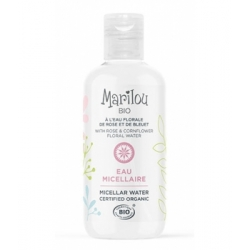 Marilou Bio Eau Micellaire Rose Bleuet peaux normales 250ml produit d'hygiène pour le visage Les Copines Bio