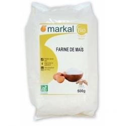 Markal Farine de Maïs  500g produit d'alimentation Les Copines Bio