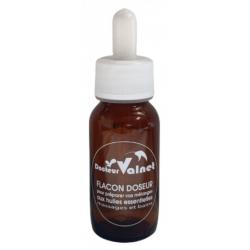 Dr Valnet Flacon doseur avec bouchon 60ml accessoire d'aromathérapie Les Copines Bio
