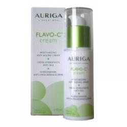 Auriga Flavo C Crème hydratante anti âge Flacon Pompe  30ml produit de soin pour le visage Les Copines Bio