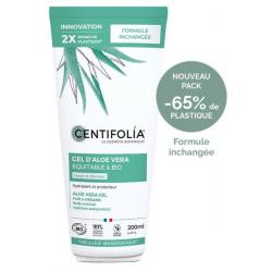 Centifolia Gel d'Aloe Vera bio 200ml produit de soin du visage et du corps Les Copines Bio