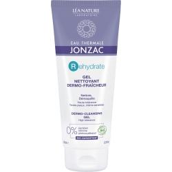 Eau Thermale Jonzac Gel dermo nettoyant visage peaux désydratées et sensibles  200ml produit d'hygiène et de soin pour le visage
