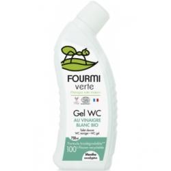 La fourmi verte Gel WC parfum Menthe et Eucalyptus 750ml produit de nettoyage ménager Les Copines Bio