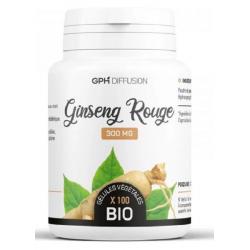 GPH Diffusion Ginseng Rouge racine bio 300mg 200 gélules complément alimentaire Les Copines Bio