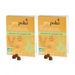 Propolia Gommes de Propolis Romarin bio lot de 2 boîtes complément alimentaire Les Copines Bio