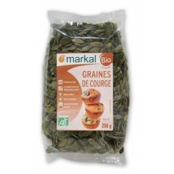 Markal Graines de Courges  250g produit d'alimentation  Les Copines Bio