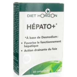 Diet Horizon Hépato + 60 comprimés complément alimentaire Les Copines Bio