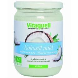 Vitaquell Huile de coco goût neutre  400g produit d'alimentation et de soin pour le corps Les Copines Bio