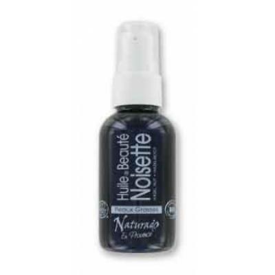 Naturado Huile de Noisette massage, peaux grasses  50ml produit de soin pour le corps Les Copines Bio