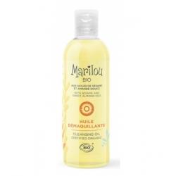 Marilou Bio Huile démaquillante huile de sésame Amande douce Peaux Sèches à Mixtes 100ml produit de soin pour le visage Les Copi